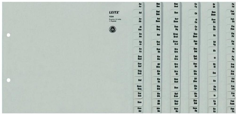 leitz register serie a z f r 24 ordner 1324 00 85 din a4 berbreite halbe h he ebay. Black Bedroom Furniture Sets. Home Design Ideas